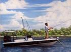 Peckalanrubinfishing18x24acrylic
